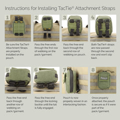 "5"" TacTie (4 pack) - Tactical Wear"