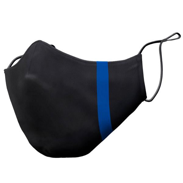 THIN BLUE LINE PREMIUM FACE MASK, LOW-PROFILE