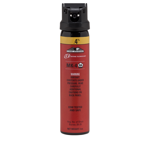 First Defense® .4% MK-4 Stream OC Aerosol - Tactical Wear