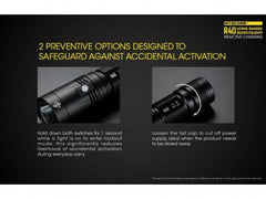 Nitecore R40 Rechargeable LED Flashlight - CREE XP-L HI - 1000 Lumens