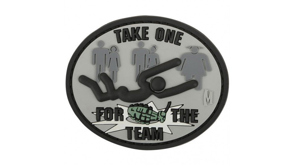 Take One For The Team Patch