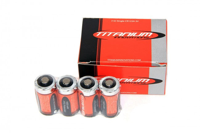 Titanium Innovations CR123A - 12 Pack