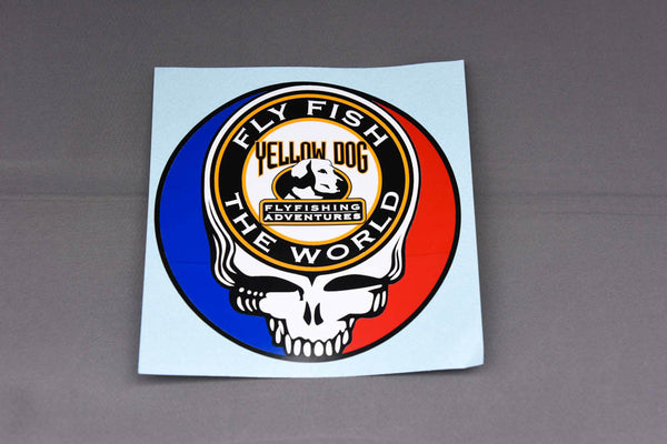 "Yellow Dog Limited Edition ""Steal Your Face"" Sticker"