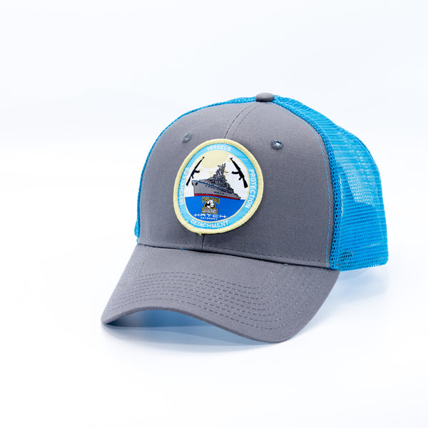 Providence Hat with Blue Mesh (discontinued)