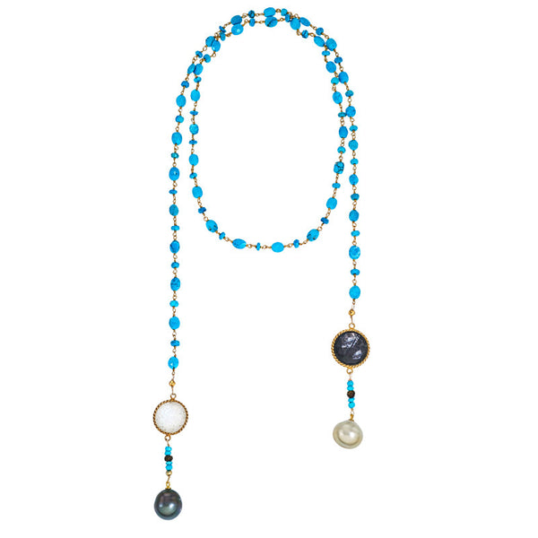 Oceano South Sea Pearl Lariat