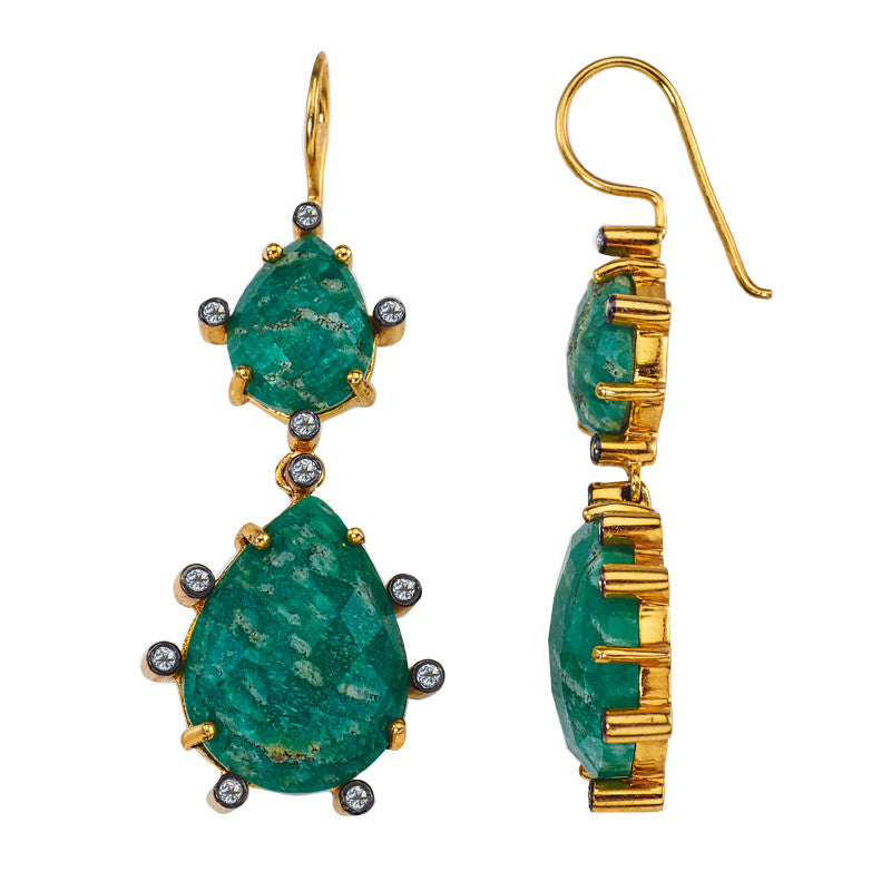 Florentine Double Earring