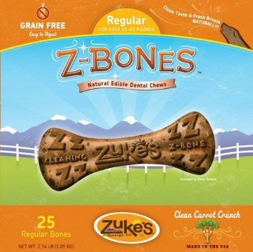 Z-Bones Natural Grain-Free Denta Chew For Dogs