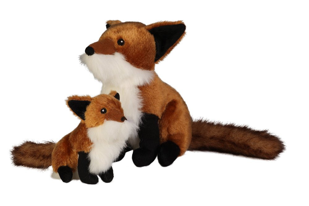 GoDog Wildlife Fox Toy with Chew Guard