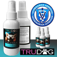 Dog Breath Freshener Spray Me (4oz) All Natural Way to Clean Your Dogs Breath & Teeth