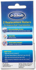 2 Replacement Rollers for the Dr. Scholl's Express Pedi Foot Smoother