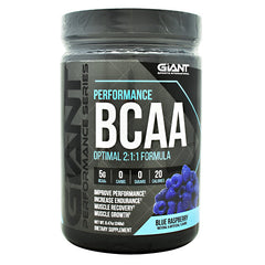 Giant Performance Series Performance BCAA - Blue Raspberry - 30 Servings - 703230843941
