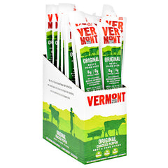 Vermont Smoked Meats Beef & Pork Sticks - Original Cracked Pepper - 24 ea - 606274325728