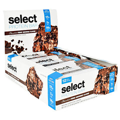 PEScience Select Protein Bar - Chocolate Fudge Brownie - 12 Bars - 040232661204