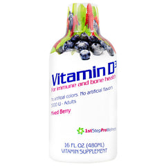 High Performance Fitness Vitamin D3 - Mixed Berry - 16 fl oz - 673131982318