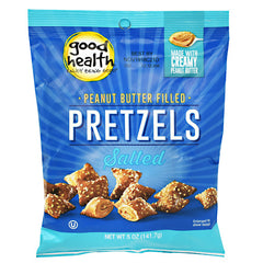 Good Health Peanut Butter Filled Pretzels - Salted Peanut Butter Petzels - 12 ea - 20755355001007