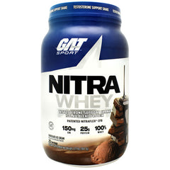 GAT Nitra Whey - Chocolate Ice Cream - 25 Servings - 816170022632