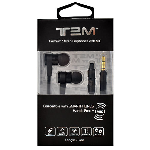 Evolv Headphones T2M Earphones