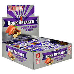Bonk Breaker Nutrition+ Bar - Peanut Butter & Jelly - 12 Bars - 793573886200