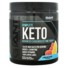 Giant Performance Series Complete Keto - Lemon Wild Berry - 15 Servings - 703230843866