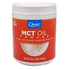 Quest Nutrition MCT Oil Powder - Unflavored - 16 oz - 888849000883