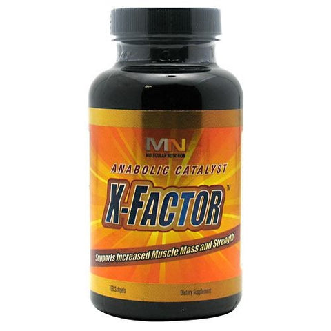 Molecular Nutrition X-Factor - 100 Softgels - 834601001285