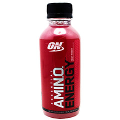 Optimum Nutrition Amino Energy RTD - Fruit Punch - 12 ea - 00045529890015