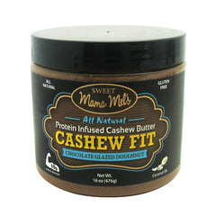 Sweet Spreads Sweet Mama Melss Cashew Fit - Chocolate Glazed Doughnut - 16 oz - 855650005154