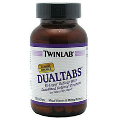 TwinLab Dualtabs - 100 Tablets - 027434009072
