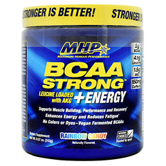 MHP BCAA Strong  Energy - Rainbow Candy - 30 Servings - 666222008974