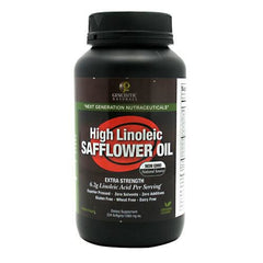 Genceutic Naturals High Linoleic Safflower Oil - 224 Softgels - 896245001267