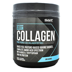 Giant Performance Series Ultra-Premium Clean Collagen - Unflavored - 44 Servings - 703230844009