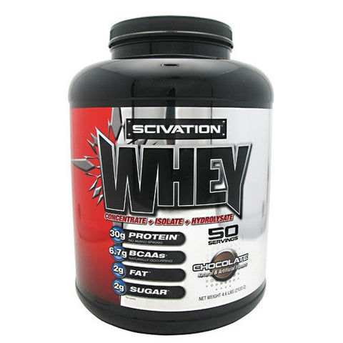 Scivation Whey - Chocolate - 50 Servings - 812135020316
