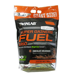 TwinLab Super Gainers Fuel - Chocolate Milkshake - 12 lb - 027434040013