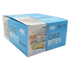 Optimum Nutrition Cake Bites - Birthday Cake - 12 Bars - 748927955729