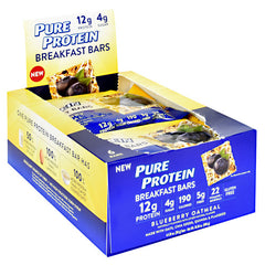 Pure Protein Breakfast Bars Breakfast Bar - Blueberry Oatmeal - 1 Bars - 749826792361