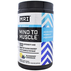 MRI Mind To Muscle - Blueberry Lemonade - 25 Servings - 633012073573