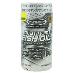 MuscleTech Essential Series Platinum Fish Oil 4X - 60 ea - 631656604627
