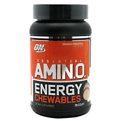 Optimum Nutrition Amino Energy Chewables - Orange Pineapple - 25 Servings - 748927026924