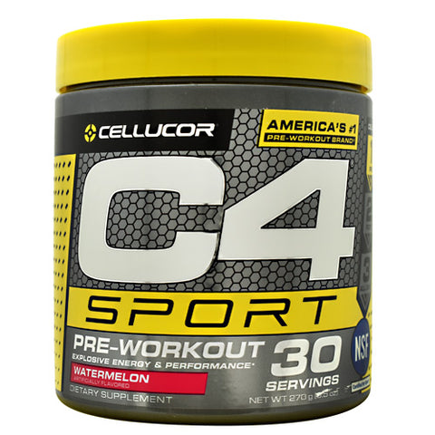 Cellucor C4 Sport - Watermelon - 30 Servings - 810390029174