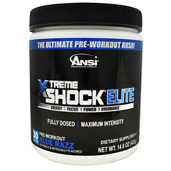 ANSI Xtreme Shock Elite - Blue Razz - 30 Servings - 689570408791