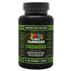 Hemp Bombs CBD Gummies - 2000 mg - 748079970748