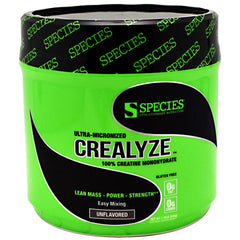 Species Nutrition Crealyze - Unflavored - 100 Servings - 852690006035