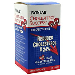 TwinLab Cholesterol Success Plus - 120 Tablets - 027434022637