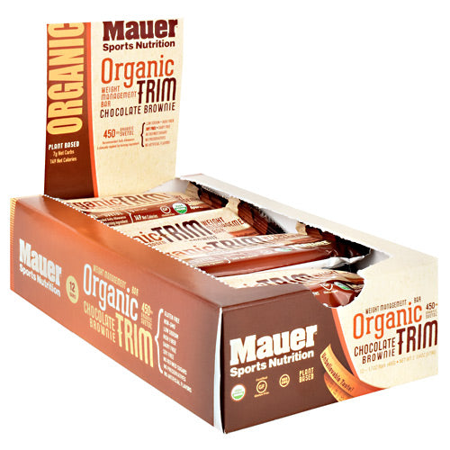 Mauer Sports Nutrition Organic Trim Bar