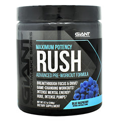Giant Performance Series Rush - Blue Raspberry - 30 Servings - 703230843828
