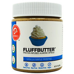 Ds Naturals Fluffbutter Almond - Vanilla Maple Frosting - 10 oz - 852346005252