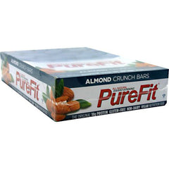 PureFit Nutrition Bar - Almond Crunch - 15 ea - 812787004009