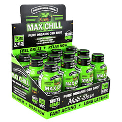 Hemp Bombs Max Chill CBD Shot - Fruit Punch - 75 mg - 744368391584