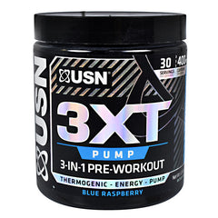 Usn Core Series 3XT Pump - Blue Raspberry - 30 Servings - 6009706090685