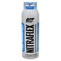 GAT Nitraflex - Raspberry Ice - 12 Bottles - 10816170020680